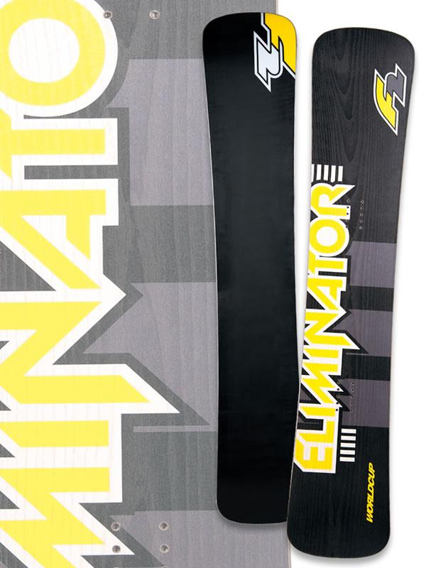 F2 Eliminator World Cup Titanal snowboard