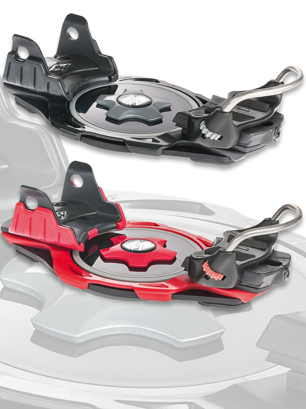 F2 INTEC Titanium Step-In Snowboard Bindings