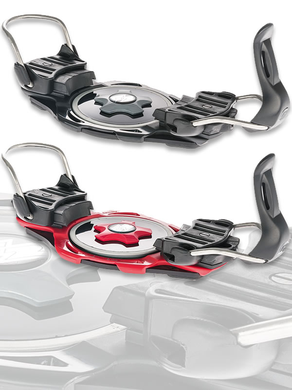 F2 Race Titanium Snowboard Bindings